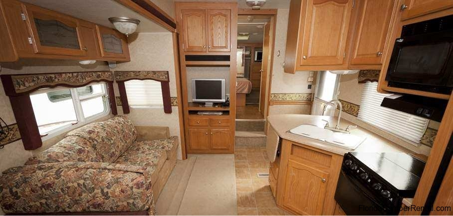 Now Available For Rent Fort Wilderness 32ft Dutchmen