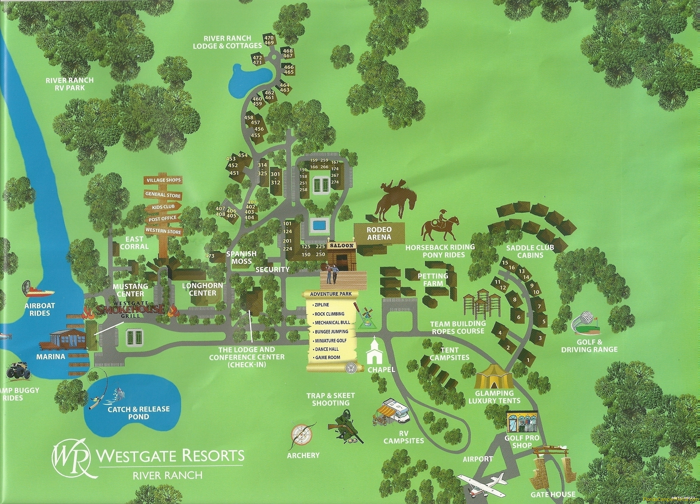 River Ranch Florida Map.Westgate River Ranch Rv Rentals Florida Camper Rental