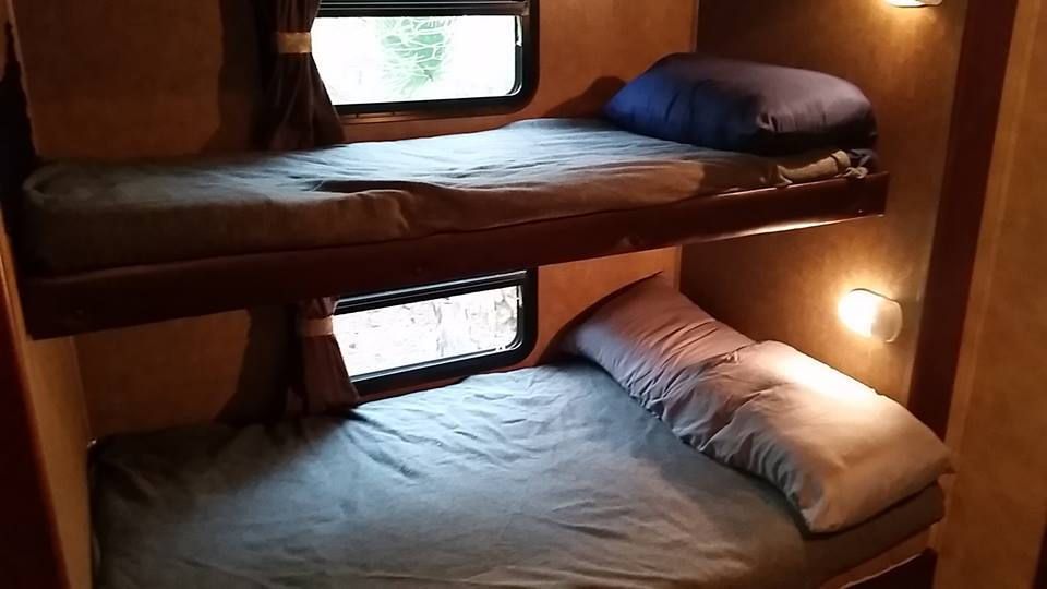 Bedroom Full Size Living Room Outside Refrigerator Camper